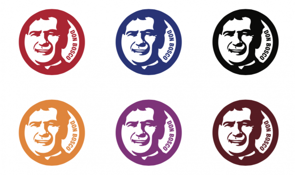Don Bosco circular icons, logos, buttons