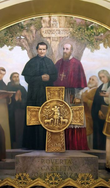 Don Bosco (St. John Bosco) and St. Francisc De Sales