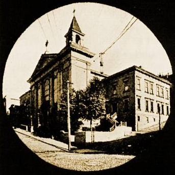 First church of Saints Peter and Paul, San Francisco, California - Salesian