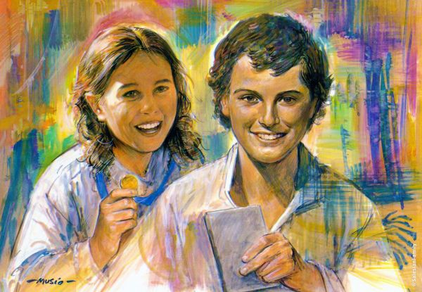 Laura Vicuña and Dominic Savio - Salesian Holiness