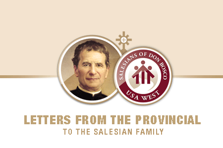 The Provincial's Weekly Letter to the Salesian Family
