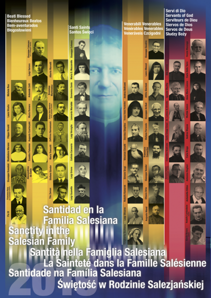 2019 Salesian Saints Poster - Salesian Holiness Poster