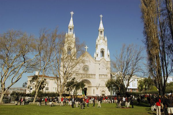 Saints Peter and Paul Church, Salesian Parish in San Francisco, California
