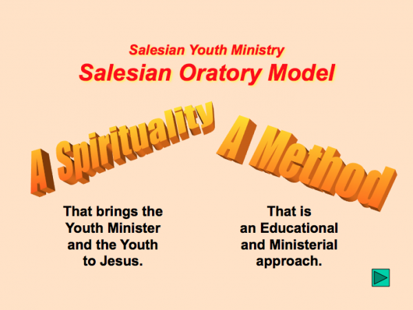 Salesian Oratory Model