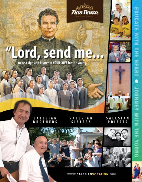Salesian of Don Bosco - Vocations to Religious Life - Vocazione Salesiana - Saint John Bosco - Don Bosco - San Giovanni Bosco - San Juan Bosco