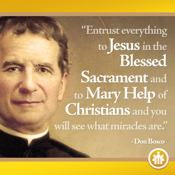 The Life Story Of St John Bosco Biography Of Don Bosco Salesian