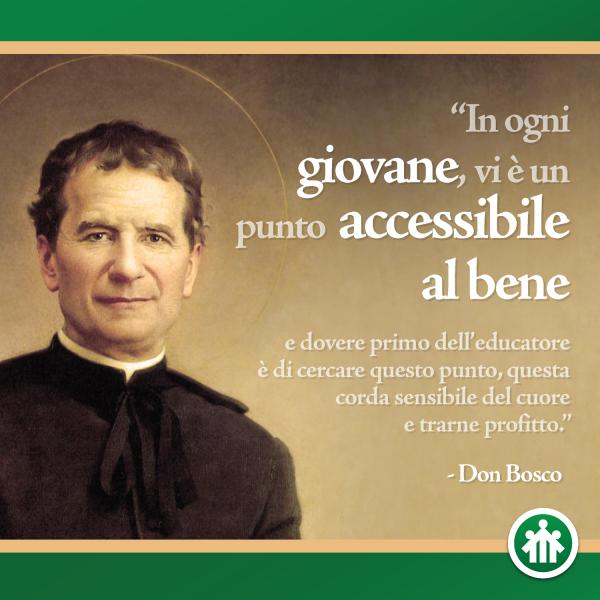 Quotations By Don Bosco Frasi Citazioni Di Don Bosco