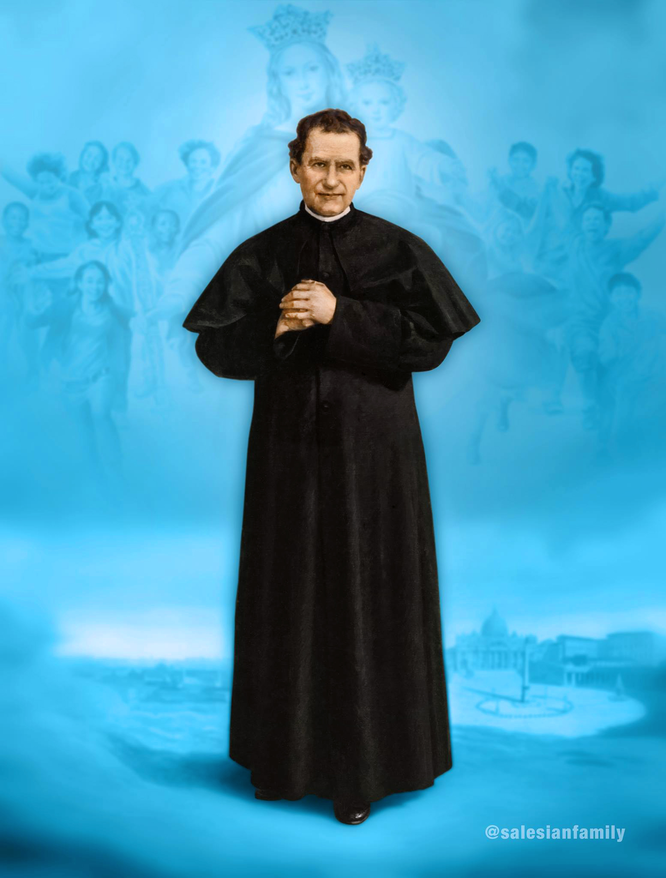 The Life Story of St  John Bosco (Biography of Don Bosco) | Salesian